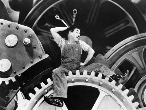 chaplin modern times charlie machine film films temps charles factory 1936 slapstick les launch moderne bam manchester stages jeremy sinking