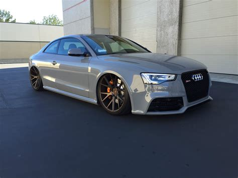 Audi Rs5 Grey by Audi Exclusive Nardo Grey Rs5 Cars For Sale