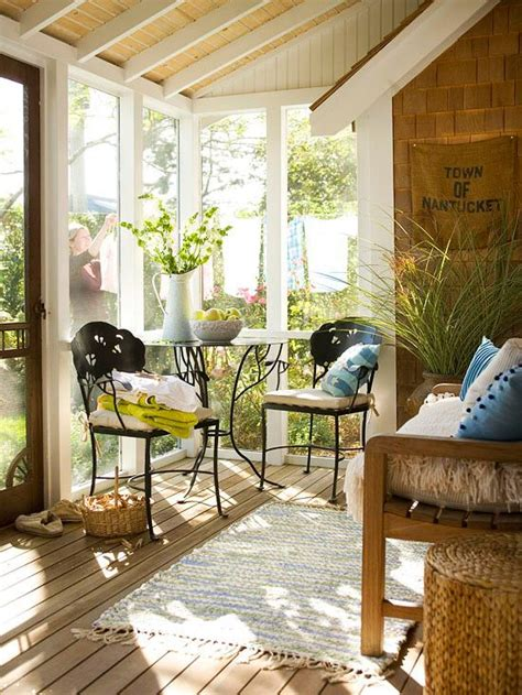 how to decorate a small sunroom set 26 smart and creative small sunroom d 233 cor ideas digsdigs