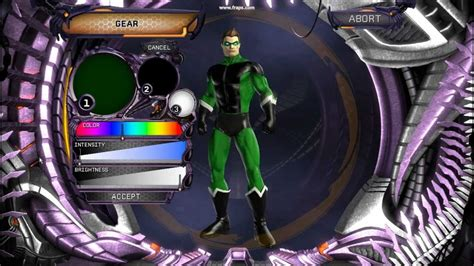 dc universe green lantern character creation hd