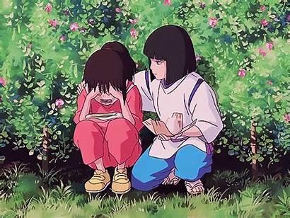 Spirited Away Cry Ghibli Studio Chihiro Haku