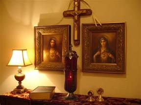 catholic altar at home home altars page 19 catholic answers forums domestic church