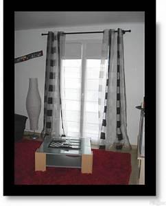 Rideau Pour Baie Vitrée : cuisine nouvel appartement salon salle a manger photos ~ Dailycaller-alerts.com Idées de Décoration