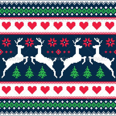 Free christmas sweater patterns is a demo pack of the latest patterns collection by graphic spirit. Ugly Christmas Sweater Pattern Vector at GetDrawings ...