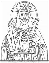 Coloring Christ King Catholic Pages Printable Drawing Mass Colouring Sheets Sunday Children Jesus Feast Saints Saint Colorings Thecatholickid Getcolorings Getdrawings sketch template