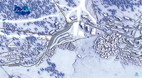 plan de la station les angles intersport rent