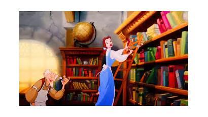 Belle Working Hard Beast Beauty Disney Read
