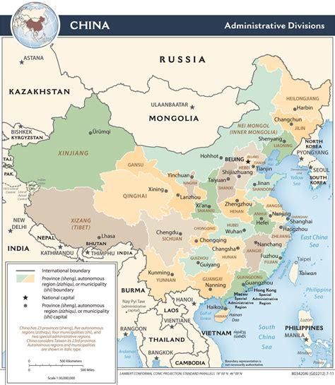 Ģeogrāfiskā karte - Ķīna - 1,414 x 1,627 Pikselis - 406.86 ...