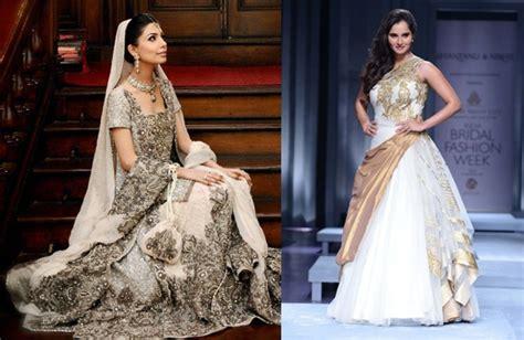 Wedding Dresses Indian : A White Indian Wedding Dress