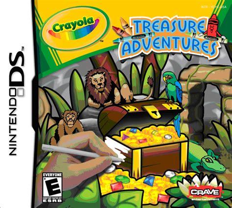 crayola treasure adventures ds 788 | ds crayola treasure adventures 110214