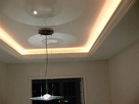 can i add a light to a ceiling fan tray ceiling lights reflect the surface for the perfect