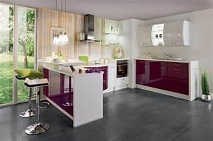 Bar Cuisine Ouverte : cuisine ouverte bar top cuisine ~ Melissatoandfro.com Idées de Décoration