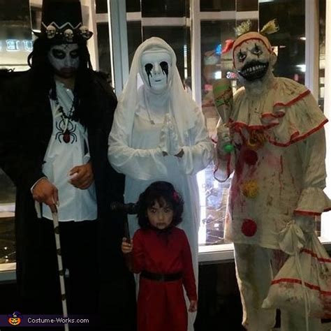 american horror family costume easy diy costumes