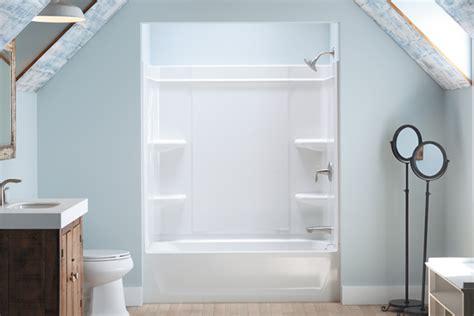 sterling offers  caulk  shower installation