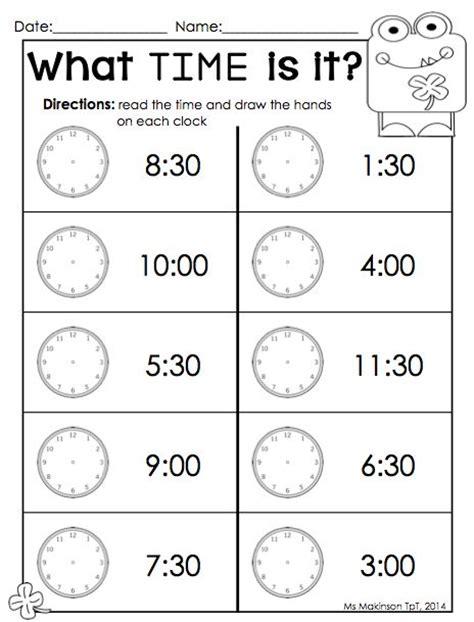 march printables kindergarten literacy and math