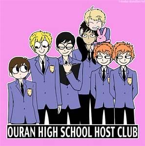 ouran highschool host club on Tumblr