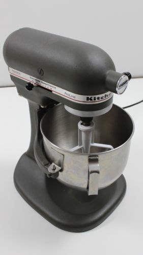 Kitchenaid Mixer Ksm5 by Kitchenaid Proline Ksm5 325 Watts Gray Matte Bowl Lift 5