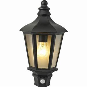 homebase 42w half lantern security outdoor light with pir With homebase outdoor lighting sale