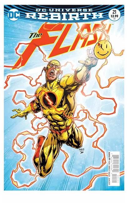 Flash Dc Rebirth Button Superman Checkup Comics