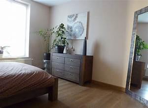 Les Meubles De Maison : chambre avec dressing photo 5 9 les meubles et le miroir viennent de chez maison ~ Teatrodelosmanantiales.com Idées de Décoration