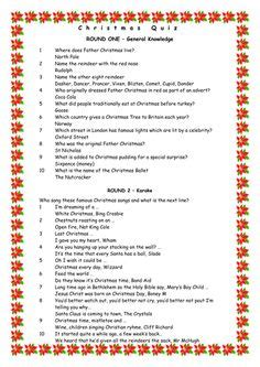 christmas trivia questions  answers christmas quiz