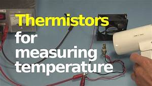 Thermistor For Measuring  Controlling Temperature