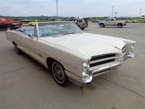 purchase   pontiac catalina convertible blue