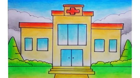 85 gambar rumah sakit mewarnai terlengkap