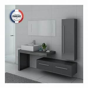 Meuble Salle De Bain Gris : dis9250gt meuble salle de bain gris ~ Teatrodelosmanantiales.com Idées de Décoration