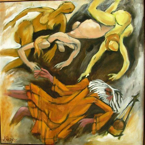 buy contemporary painting 39 falling baul 39
