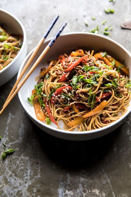 weeknight  minute spicy udon noodles home inspiring
