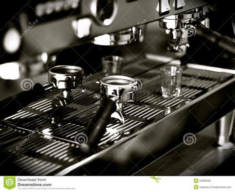 espresso shot machine espresso shots stock photography image 22836032