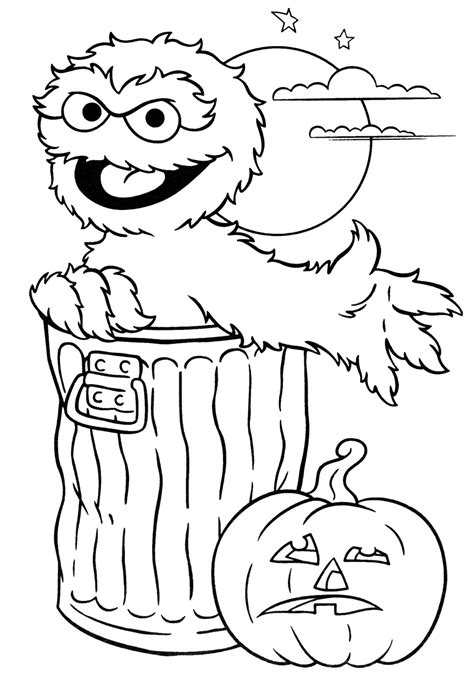 halloween coloring pages  kids honey lime