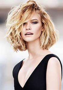 Coiffure Carré Mi Long : cheveux mi long blond coiffure mi long blond marie ~ Melissatoandfro.com Idées de Décoration