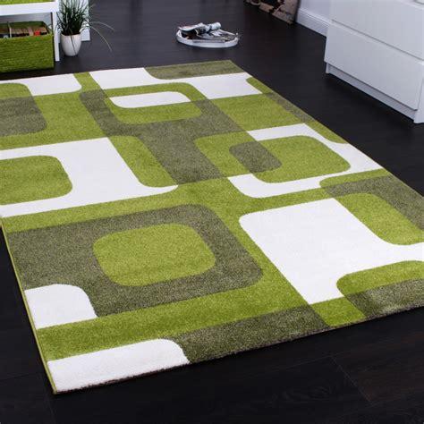 tappeto design moderno tappeto di design moderno a quadri verde tapetto24