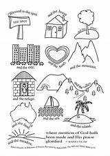 Coloring Wisdom Baha Leaves Virtue sketch template