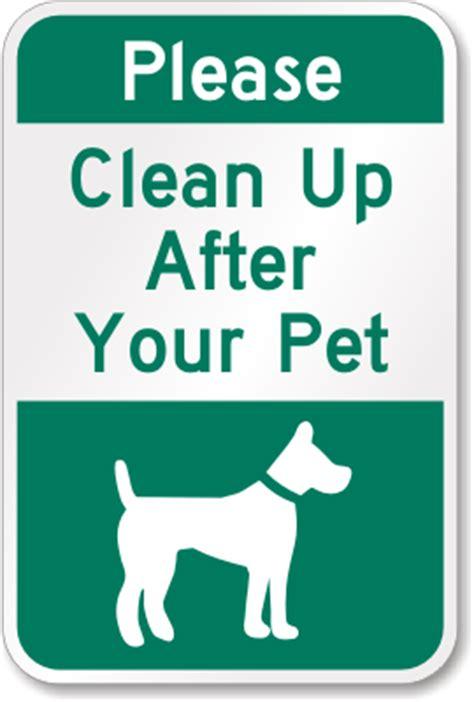 clean    dog signs clean  dog poop signs