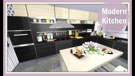 sims  modern kitchen youtube
