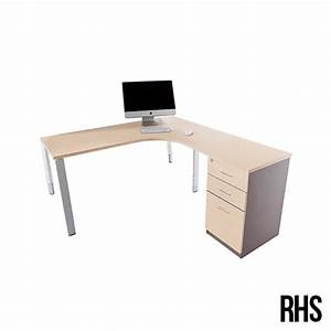 Shop Oblique Manual Height Adjustable Corner Desk