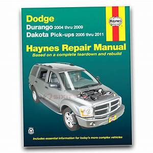 Dodge Durango Haynes Repair Manual Sxt Limited Adventurer