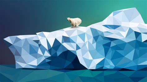 bear glacier 3d graphics wallpapers and images wallpapers pictures photos