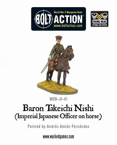 Nishi Baron Japanese Bolt Action Imperial Forces