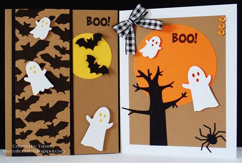 Cute Diy Halloween Cards  Festival Collections