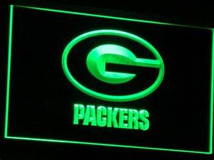 Green Bay Packers Neon Sign Packers Neon Sign Packers
