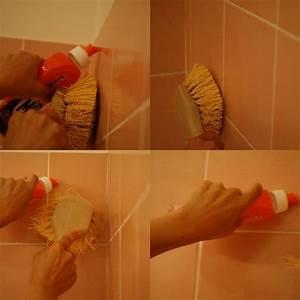 le carrelage mural de la salle de bain etincelant la With nettoyer faience salle de bain