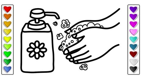 how to wash colors how to draw wash your l drawing and coloring pages