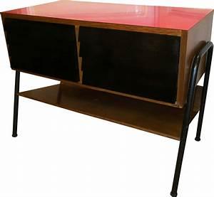 Meuble Hifi Bois : meuble hifi en bois et formica par manufrance 1960 ~ Voncanada.com Idées de Décoration