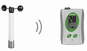 Wireless Wind Speed  U0026 Wind Chill Anemometer
