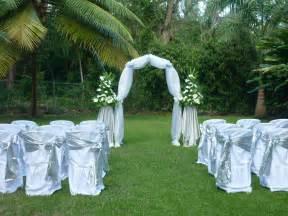 garden wedding sunflower events barbados weddings