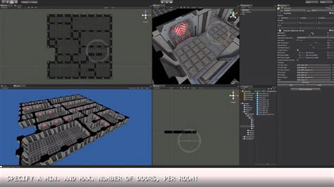 daedalus random dungeon generator  unityd youtube